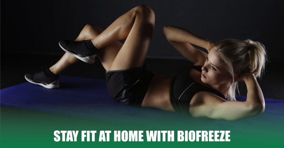 Stay Fit at Home with Biofreeze